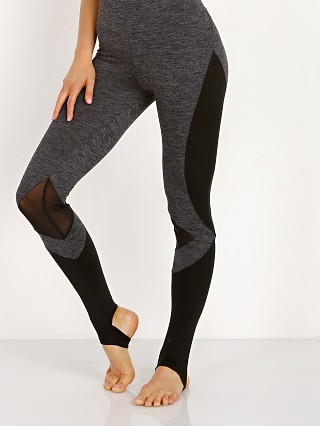 Lanston Sport Jac Panel Stirrup Legging Grey