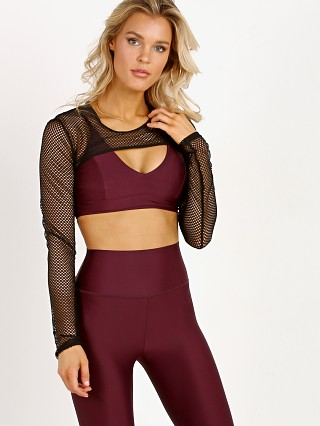 Complete the look: Lanston Sport Boden Mesh Layered Bra Maroon