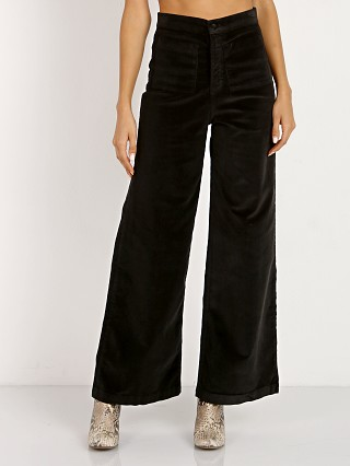 Model in black Sugarhigh Lovestoned Woody Pant Stretch Cord