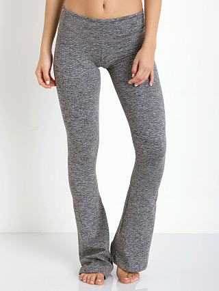 Strut This The Emerson Flare Pant Grey Moss