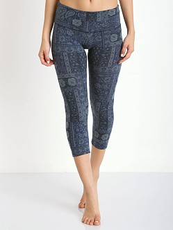 Strut This The Teagan Capri Blue Paisley