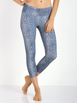 Strut This The Hudson Capri Navy Snake