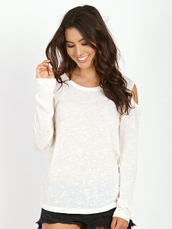 LNA Clothing Julian Sweater Natural
