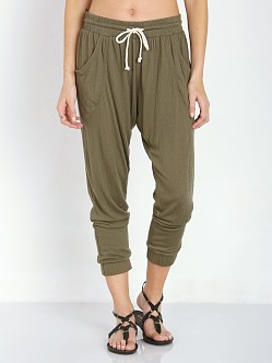 LNA Clothing Gypsy Pant Army Green