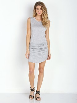 LNA Clothing Levy Dress Heather Grey