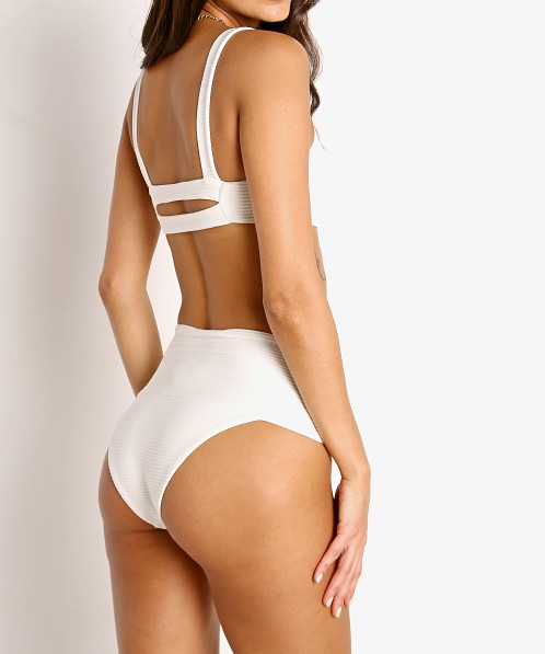L Space Eco Desi Bikini Bottom Cream