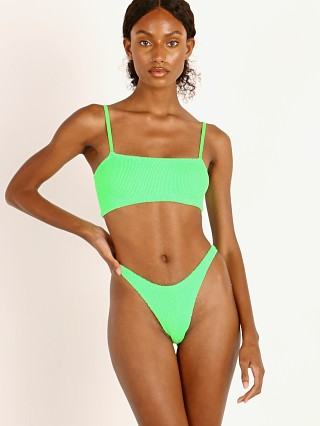 Hunza G New Gigi Bikini Set Lime