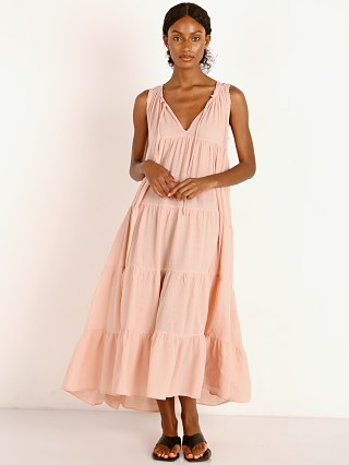Model in dusty rose 9seed Lighthouse Maxi
