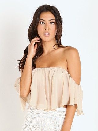 Winston White Viva Crop Top Nude
