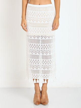 Complete the look: Winston White Cryprus Skirt Cream Crochet