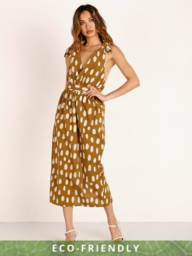 Mara Hoffman Calypso Cover Up Dress Rocce Dot Jacquard