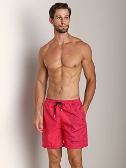 Hugo Boss Killifish Swimsuit Magenta