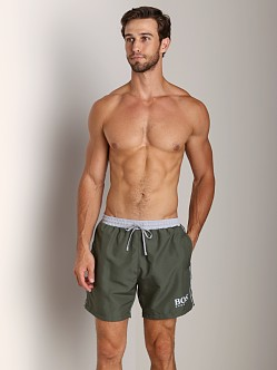 Hugo Boss Starfish Swim Shorts Olive