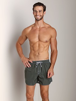 Hugo Boss Lobster Swim Shorts Olive
