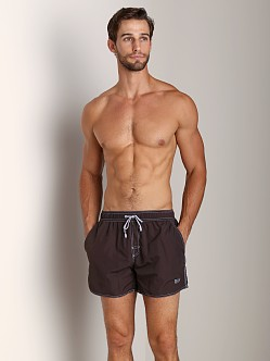 Hugo Boss Lobster Swim Shorts Espresso