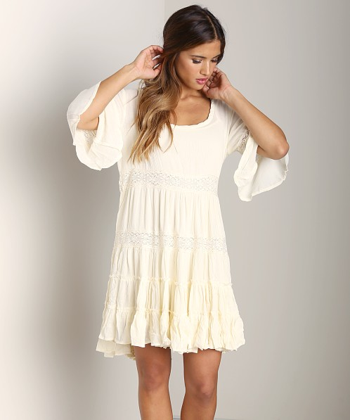 Free People Dream Cloud Dress Ivory