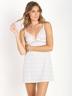 Eberjey Looking Glass Chemise Glass Grey