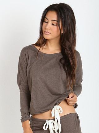 Eberjey Heather Slouchy Tee Tapenade
