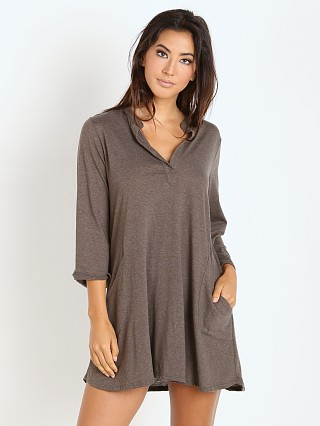 Eberjey Heather Lounge Tunic Tapenade