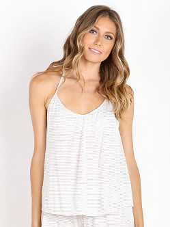 Eberjey Love Letters T Back Cami Marble