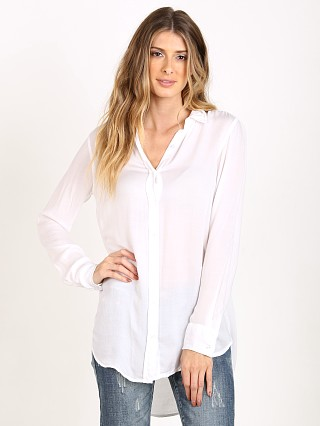 Bella Dahl Halle Shirt White