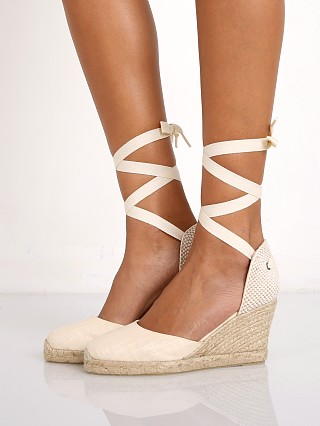 You may also like: Soludos Tall Wedge in Blush