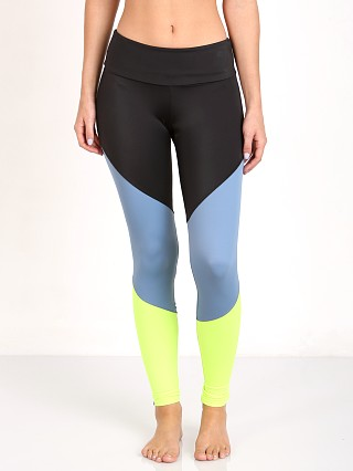 Onzie Track Legging Black and Jean