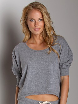 Splendid Active Always Top Heather Grey