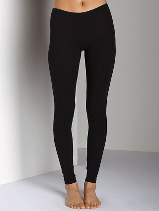 Complete the look: Splendid Modal Lycra Long Legging Black