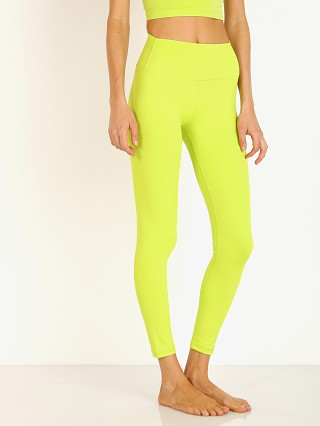 Splits59 Kinney High Waist 7/8 Legging Neon Green