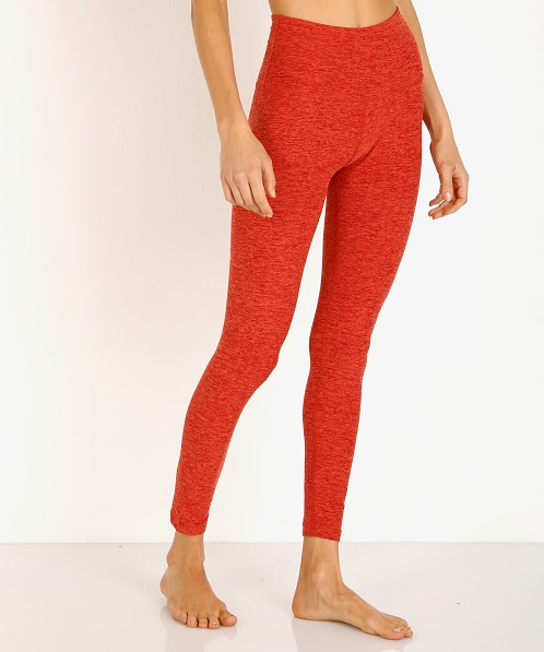 Beyond Yoga Spacedye Midi High Waisted Legging Scarlet