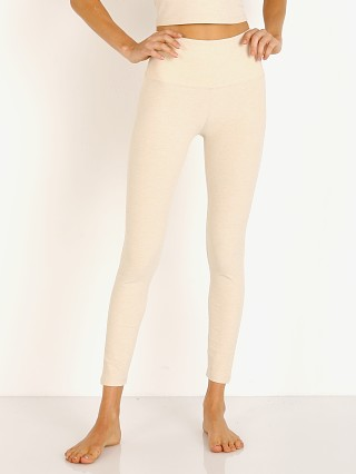 Beyond Yoga Spacedye Midi High Waisted Legging Sandstone