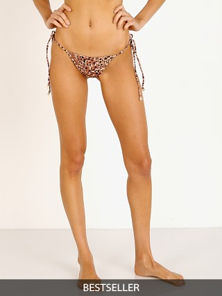 Indah Kalina String Side Bikini Bottom Leopard