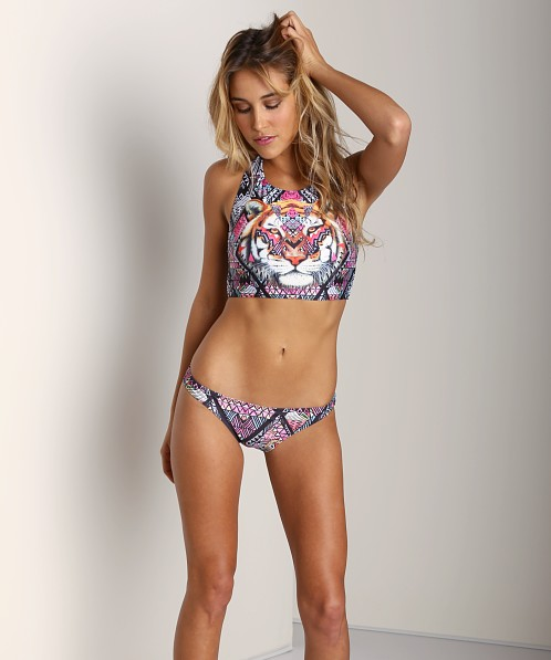 MinkPink Tiger Tribe Crop Bikini Top