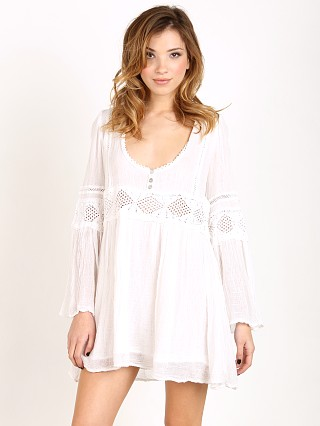 Jen's Pirate Booty Enchanted Babydoll Dress White