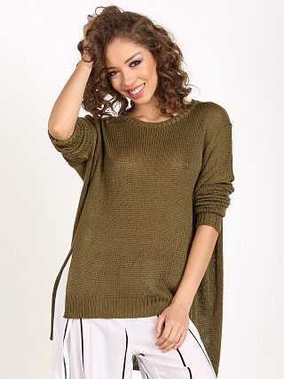 Faithfull the Brand Isabel Knit Khaki Green