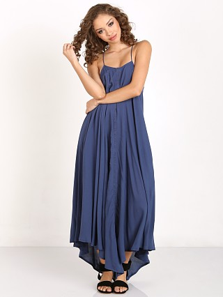 Faithfull the Brand Moments Maxi Plain Ocean Blue