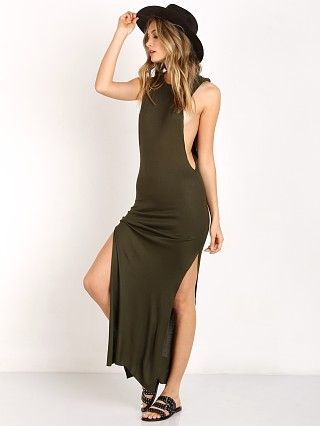 Indah Jimmy Maxi Dress Pine Green