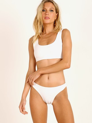 Complete the look: Mikoh Keala Bikini Top Bone