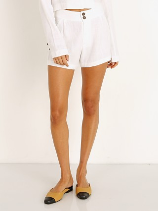 Stillwater All Summer Shorts White