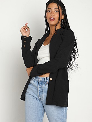 Model in black Stillwater The Blazer