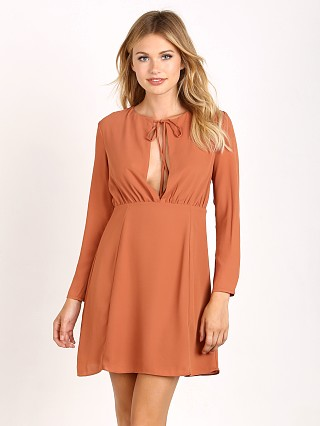 Wyldr Love Ready Dress Burnt Nude