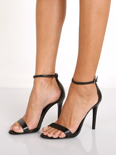 Schutz Cadey Lee Leather Black