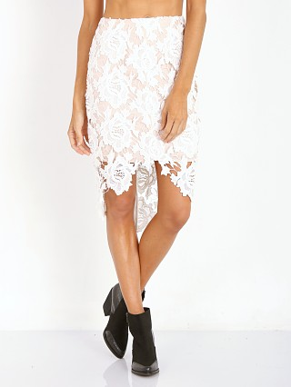 Keepsake The Label I Will Wait Skirt Ivory Lace