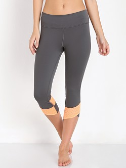 Under Armour Fly by Compression Capri Phantom Grey/Afterglow