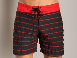 Sauvage Hunter Banded Surfshort Red