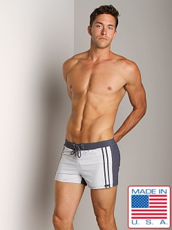 Sauvage Spliced Euro Retro Swimmer Grey