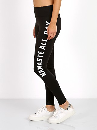 Spiritual Gangster Namaste All Day Legging Black