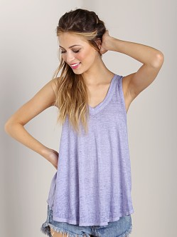 Free People Breezy Tank Periwinkle