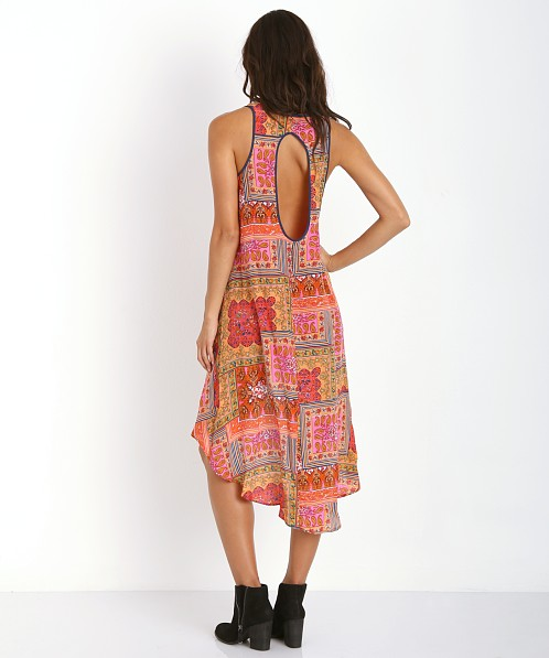 Tolani Nikki Silk Dress Mango
